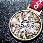 Maratona di Roma medaglia