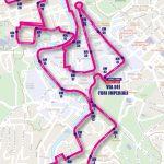 Maratona di Roma percorso