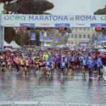 Maratona di Roma partenza