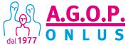 Logo AGOP Onlus dal 1977