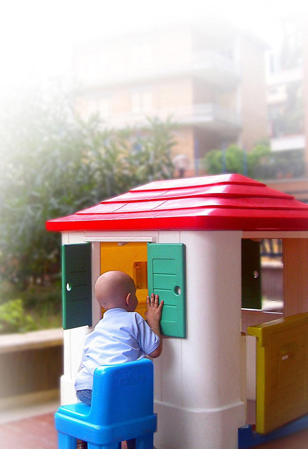 La casa a colori per l'oncologia pediatrica