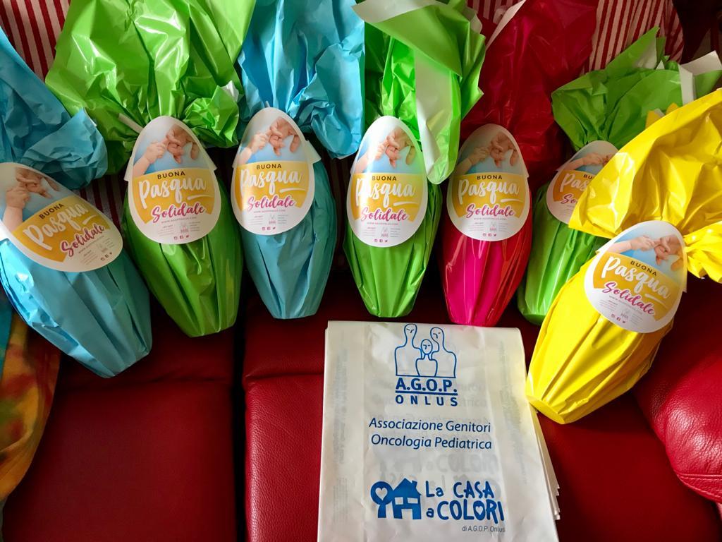 COnsegne uova di pasqua a domicilio