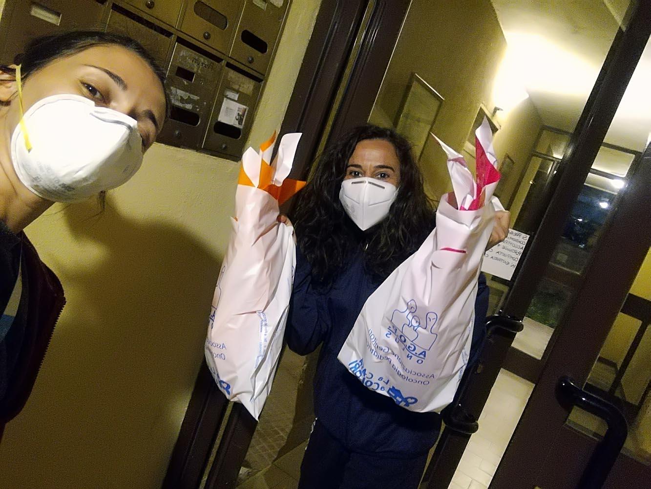 Il Coronavirus non ferma la solidarietà a pasqua
