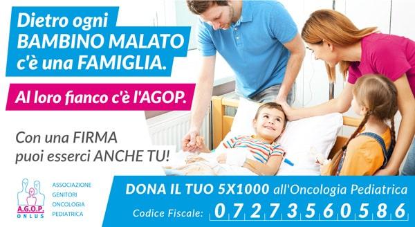 5x1000 per l'oncologia pediatrica